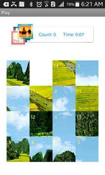 Tile Puzzle Nature screenshot 1