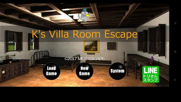 K's Villa Room Escape poster
