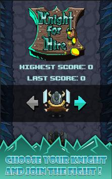 Knight For Hire apk screenshot