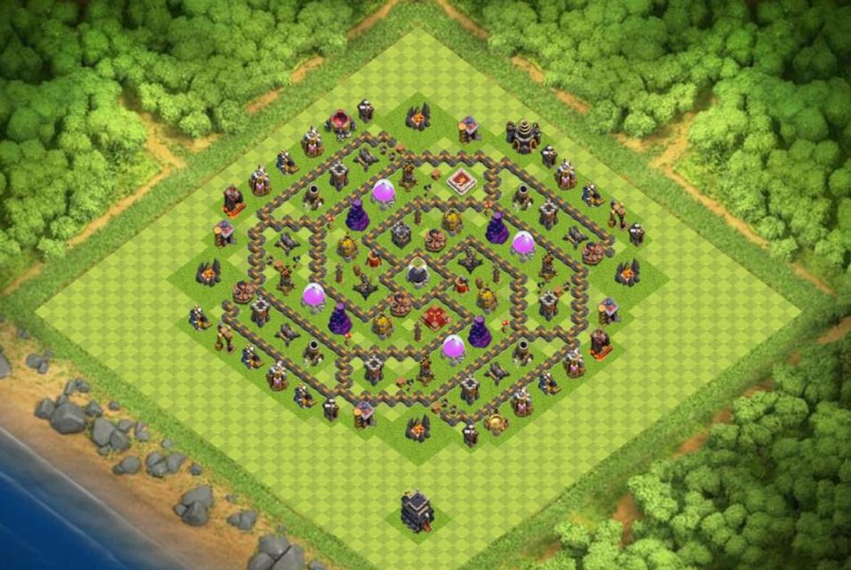 base defence coc town hall 9 for android apk download