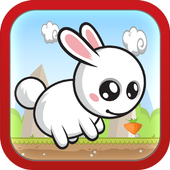 Flying Bunny Free icon