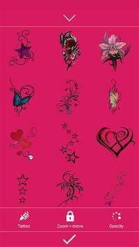 Girls tattoo photo maker apk screenshot