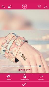 Girls tattoo photo maker screenshot 4