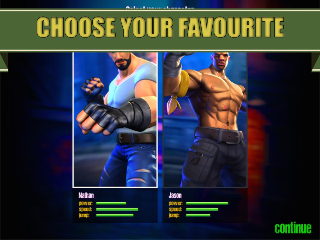 street fighter game for android