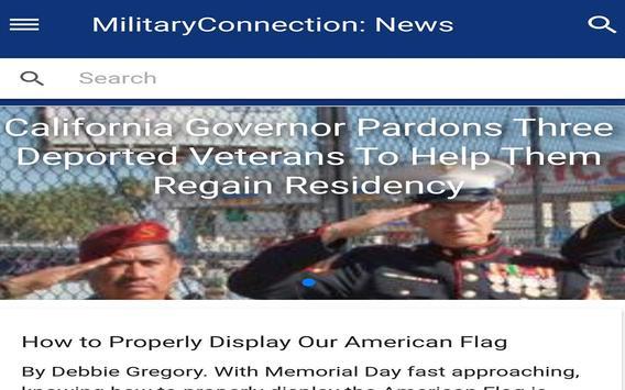 MilitaryConnection.com News apk screenshot