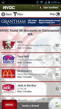 MVDC Military & Vet Discounts apk screenshot