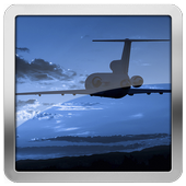 Airlines Travel Compass HD LWP icon