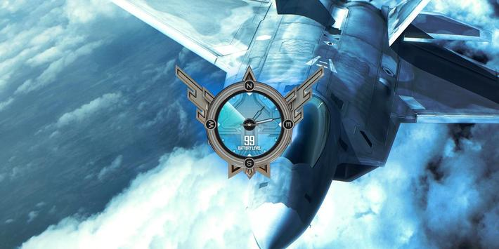 F22 Raptor Air Combat HD LWP apk screenshot