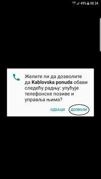 Kablovska ponuda apk screenshot