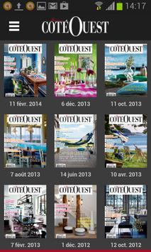 Côté Ouest - magazine 1.0 poster