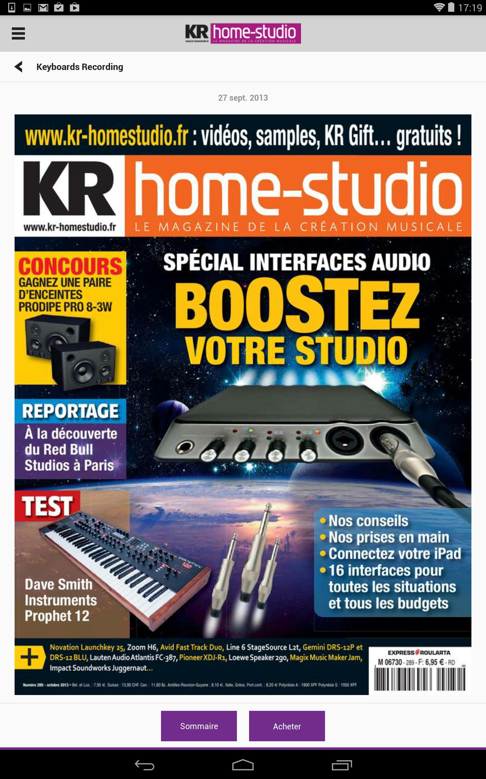 KR Home Studio - Magazine for Android - APK Download