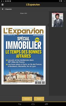 L'Expansion - Magazine apk screenshot