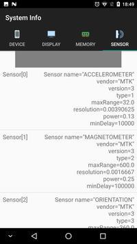System Information screenshot 4