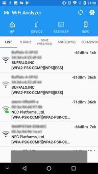 Mr.WiFi Analyzer screenshot 2