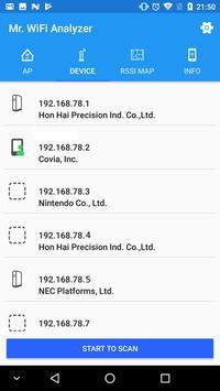 Mr.WiFi Analyzer screenshot 4