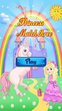princess match 3 poster