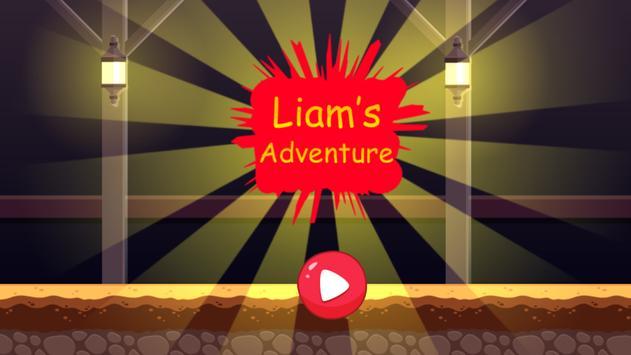 Liam's adventure poster