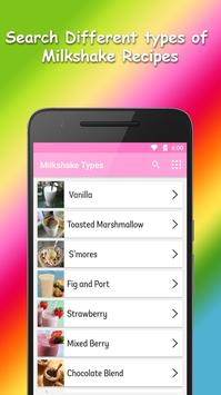 Milkshake Recipes screenshot 1