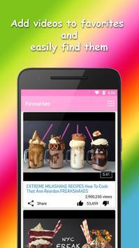 Milkshake Recipes Videos apk screenshot