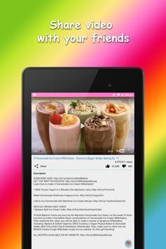 Milkshake Recipes screenshot 9
