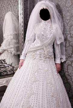 ... صورتك في فستان زفاف المحجبات apk screenshot ...