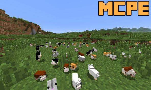 Hamsters Mod for Minecraft PE Poster