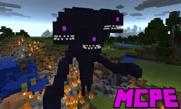 Wither Storm Addon for MCPE poster