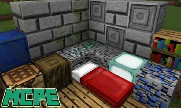 3D Texture Pack for Minecraft PE poster
