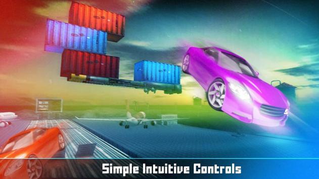 Floating Base Cars Stunts screenshot 16