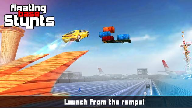 Floating Base Cars Stunts screenshot 12