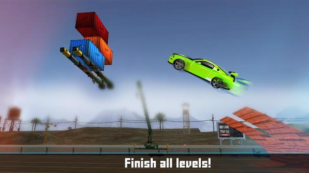 Floating Base Cars Stunts screenshot 13