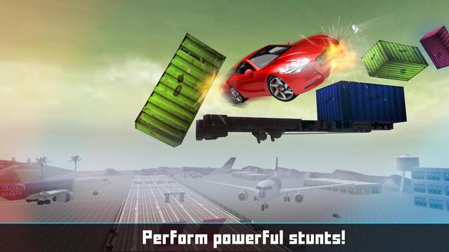 Floating Base Cars Stunts screenshot 5