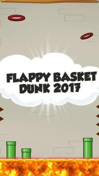 Flappy Basket Dunk 2017 poster