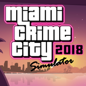 Miami Crime Games - Gangster City Simulator icon