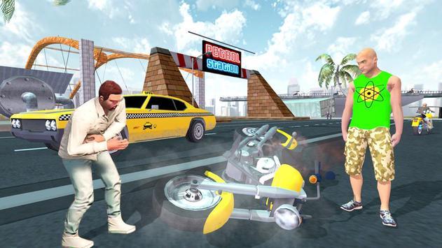 Miami Crime Games - Gangster City Simulator imagem de tela 3