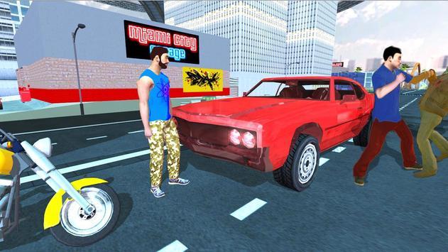 Miami Crime Games - Gangster City Simulator imagem de tela 2