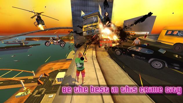 Miami Crime Games - Gangster City Simulator imagem de tela 4