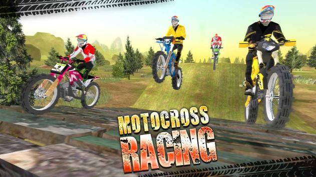 Motocross Racing पोस्टर