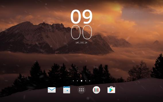 Diggin Winter Live Wallpaper screenshot 8