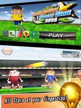World All Star Soccer Shot apk screenshot