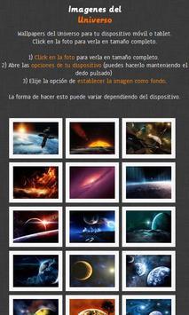 Imágenes del Universo poster