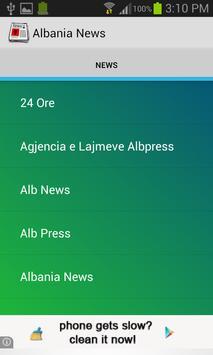 Albania News poster