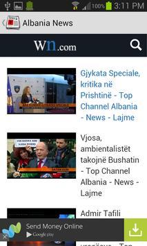 Albania News screenshot 1