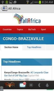 Congo newspaper apk screenshot