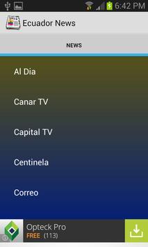 Ecuador News screenshot 4