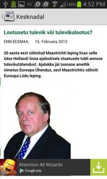 Estonia News apk screenshot