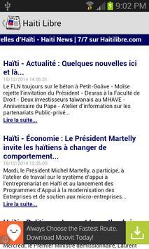 Haiti News apk screenshot