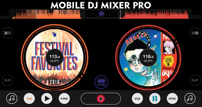 Mobile DJ Mixer Pro screenshot 1