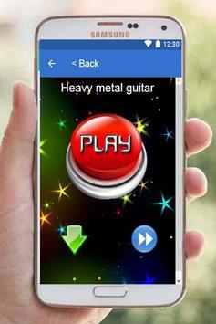 Ringtones Heavy Metal screenshot 1