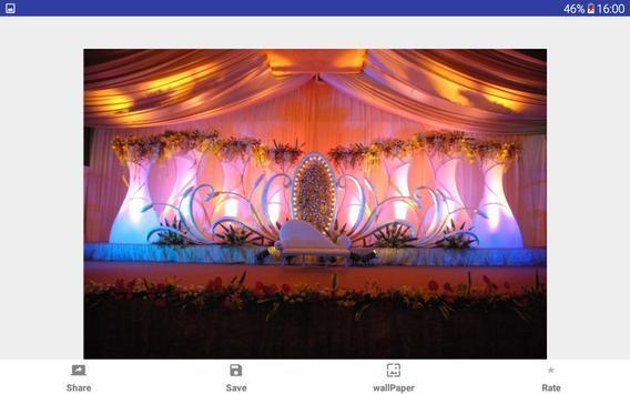 Wedding Stage Decoration Gallery apk screenshot